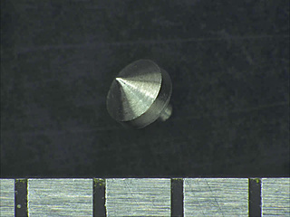 Processing example: Metal top width about 1mm
