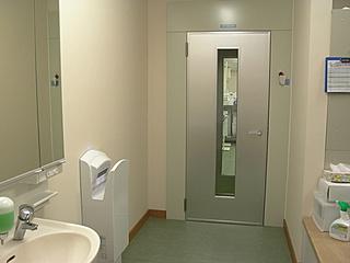 Inspection room entrance air shower unit