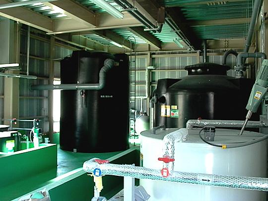 废水处理大楼1楼