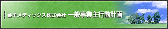 Kaneko MediX Co.,Ltd.一般企业主行动计划