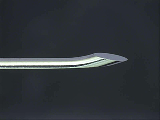 Processing example: Epidural needle (inner needle)