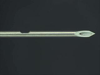 Machining example: EMG notch machining